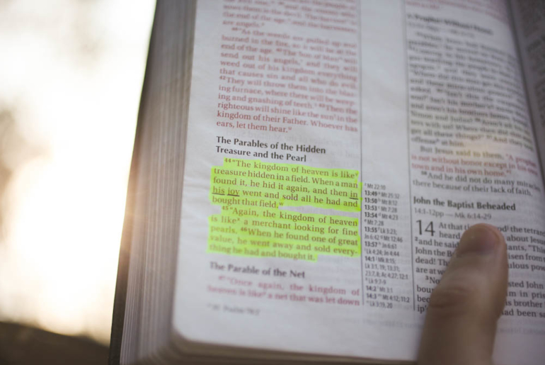 Free Devotions - Christian Resources - Matthew 13:44