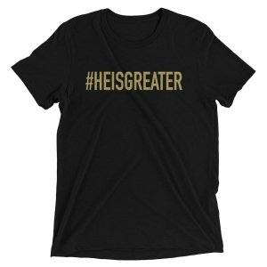 Free Devotions - Christian Resources - #HEISGREATER Tee